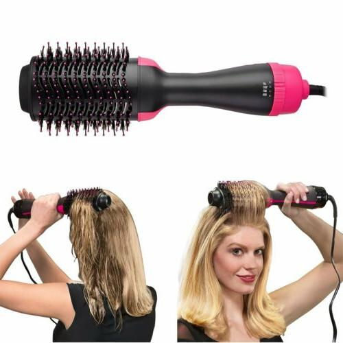 2-in-1 Hair Volumizer Comb One-Step Brush