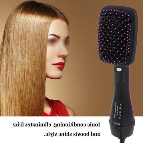 2 in1 professional electric comb hair dryer