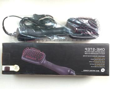 2 Beauty Smoothing Hair Dryer Paddle Brush Hair Styler Comb