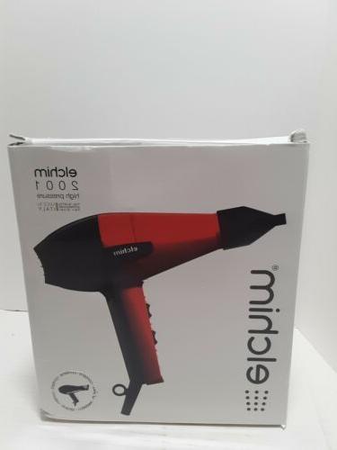 Elchim 2001 Professional Hair Dryer, Black FREE