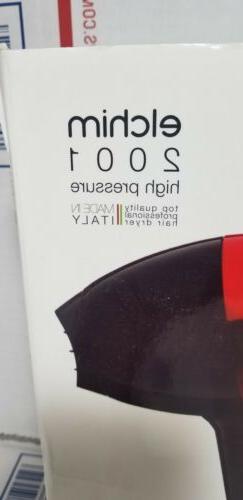 Elchim Salon Hair Dryer Blow Black-Made in