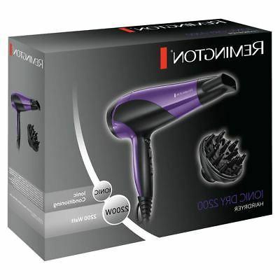 Remington 2200W Hair Conditioning - Purple