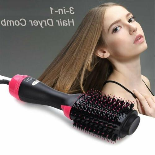 3 Dryer Curler Salon Wave Brush Straightening
