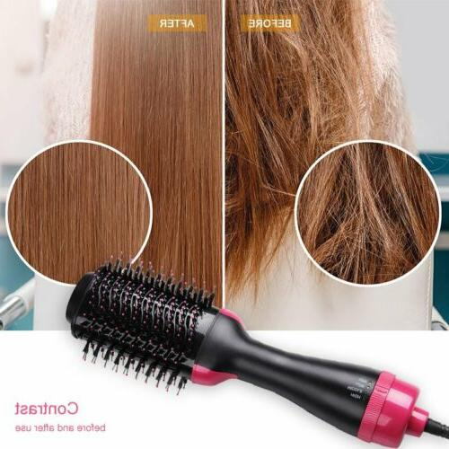 3 in1 hair dryer curler straightener salon