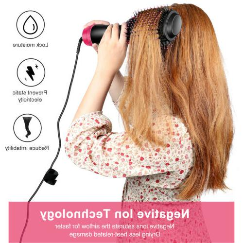 3in1 Blow Volumizer Comb Infrared