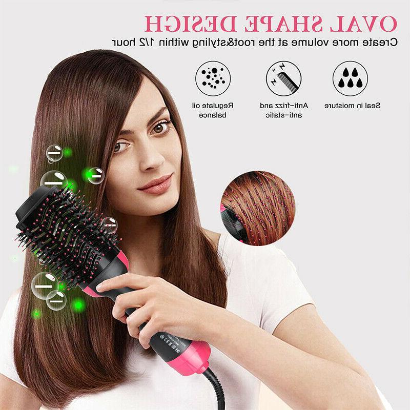 Hair Brush, Air Dryer One Step Hair Dryer Volumizer