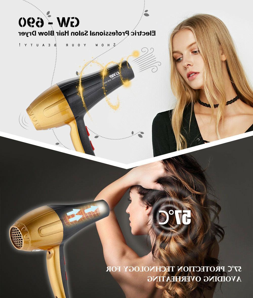 3000W Hair Hot Blow Power EU