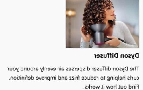 Dyson Hair Dryer Fuchsia / Iron