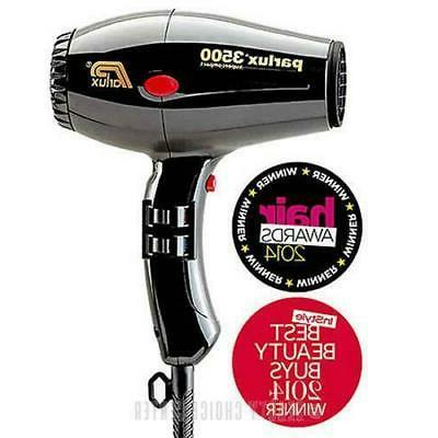 3500 super compact hair dryer black