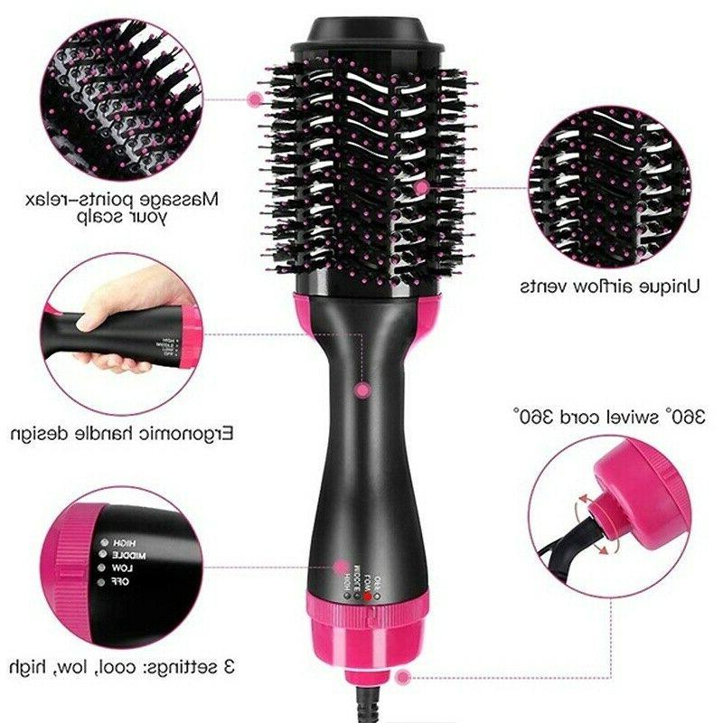 3in1 Blow Brush Styler Comb
