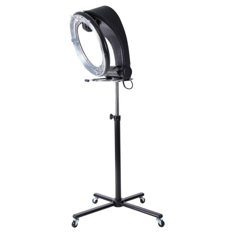 110v 950w orbiting infrared hair dryer 3in1