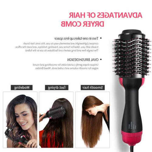 3in1 Pro Collection One-Step Dryer Style Paddle Brush