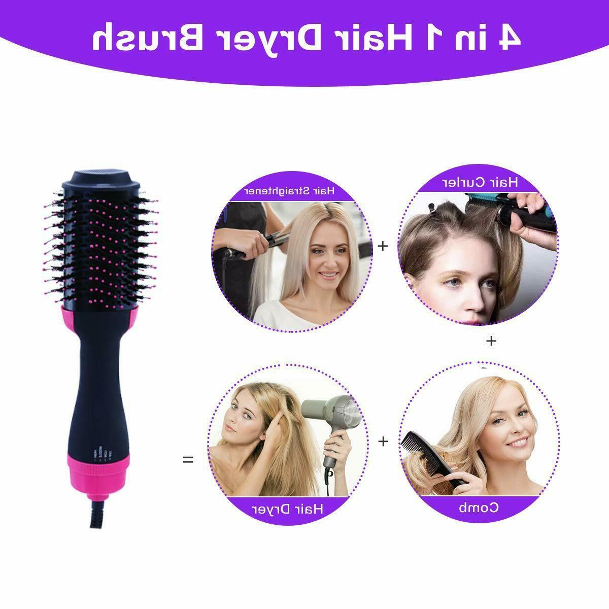 4 1 Air Comb Multi-function Hair