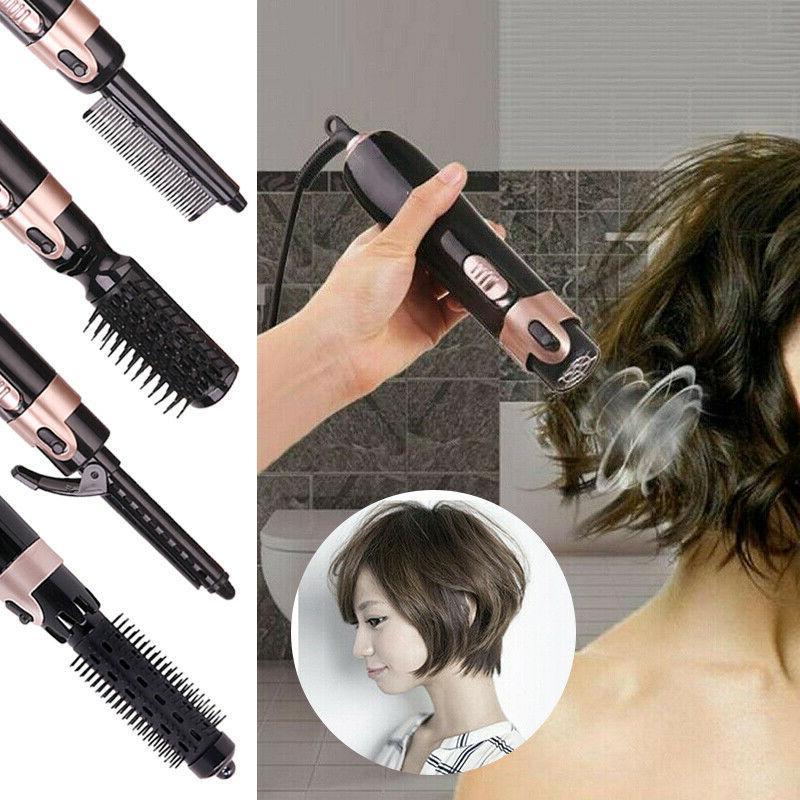 US In Hair and Volumizer Brush Hot Air Straightening