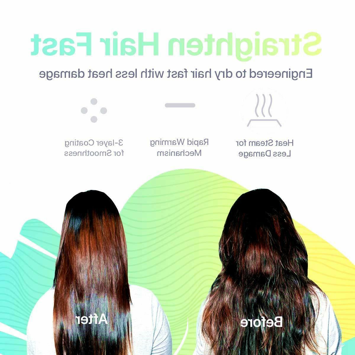3in1 Blow Styler Straighten Comb