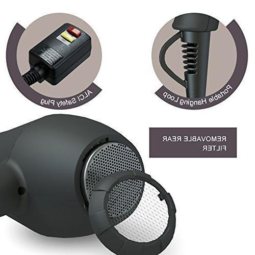 BERTA Hair Blow Dryer 3 Motor Accessories