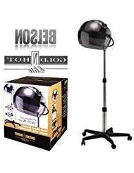 Belson 1053 Gold N Hot GH1053 V3 1875W Salon Ionic Stand Bon