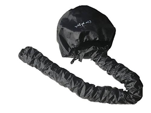 Bonnet Attachment- Soft, Large Hooded Hand Hair with Stretchable Extended Hose