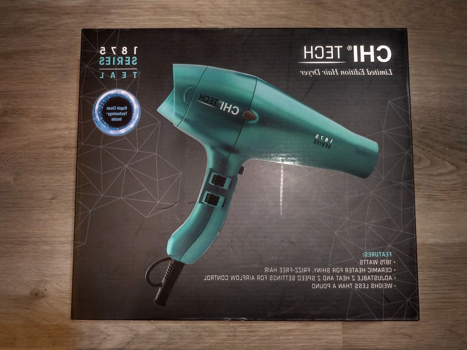 CHI Tech 1875 Limited Edition Series Hair Dryer with Rapid C