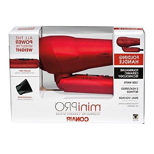 Tourmaline Ceramic Styler/Hair Red