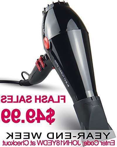 JOHN Blast 6900 Tourmaline Ceramic Ionic Professional Hair D