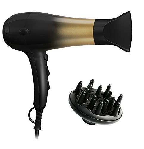 KIPOZI 1875W Hair Dryer,Nano Ionic Blow Dryer Professional S