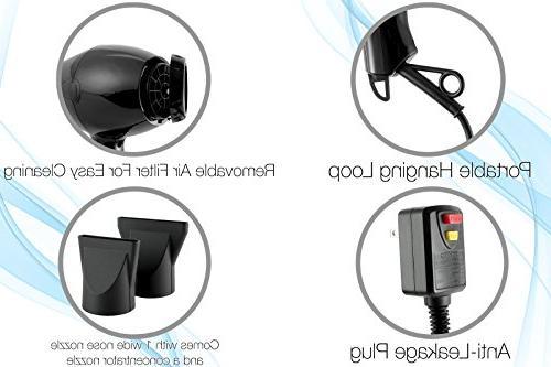 Anti-Frizz Ionic Extra-Fast & Heat Blow Blow | Electric Hair dryer Women Girls