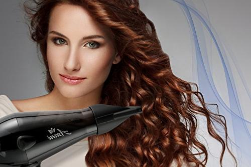 Professional Hair Dryer with Anti-Frizz Extra-Fast & Blow Blow dryer | Salon-Grade Electric Hair dryer Women & Girls