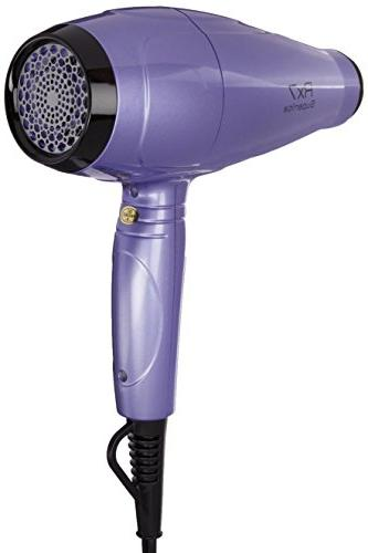 RX7 Advanced Ionic Blow Dryer with Infrared Heat Technology, Purple/Black