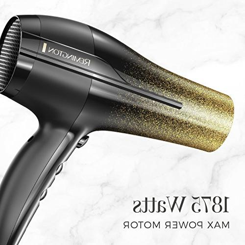 Remington Dry Hair and Technology, & Gold Glitter,