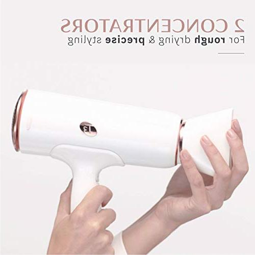 T3 - Dryer Digital Professional Blow Dryer Fast Drying, Volumizing Wide Air Flow | Frizz Smoothing and Heat Cool Shot