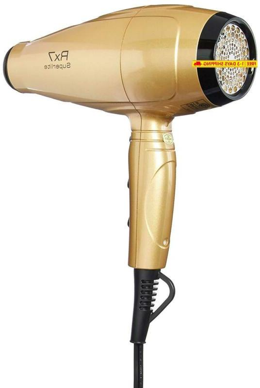 Rx7 Advanced Ionic Hair Dryer With Infrared Techn