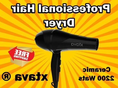 allure pro hair dryer black 2200 watts