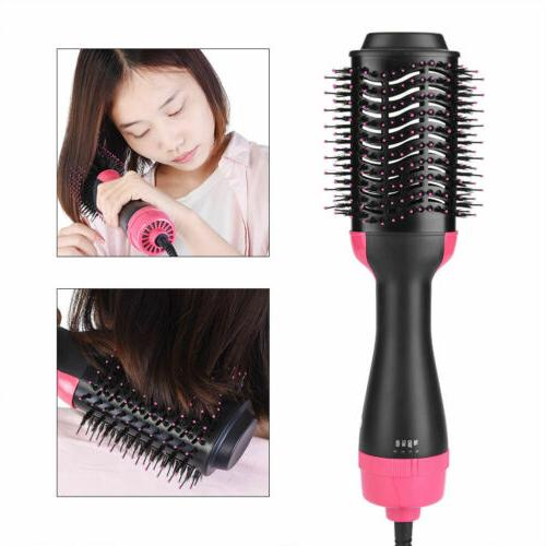 Anion Infrared Hair Comb Blow Straightener