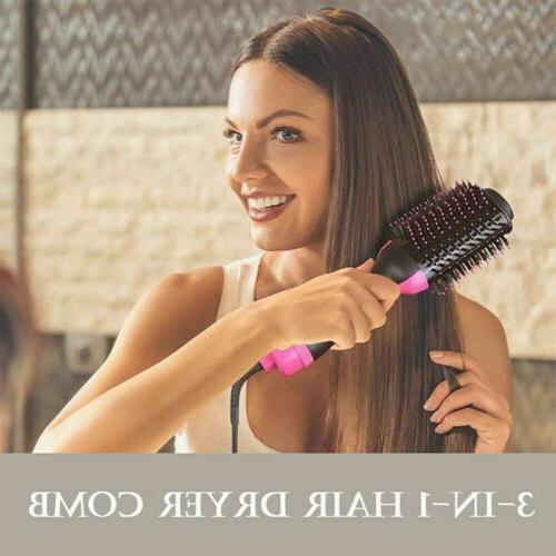 Anion Hair Comb Hair Blow Curler