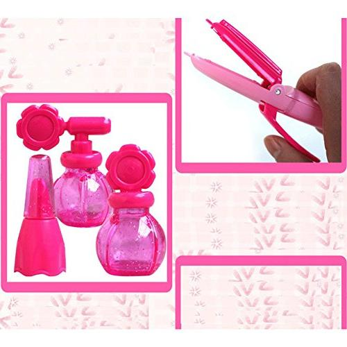 Lanlan Beauty Salon Beauty Case Comb Perfume Girls Play Set