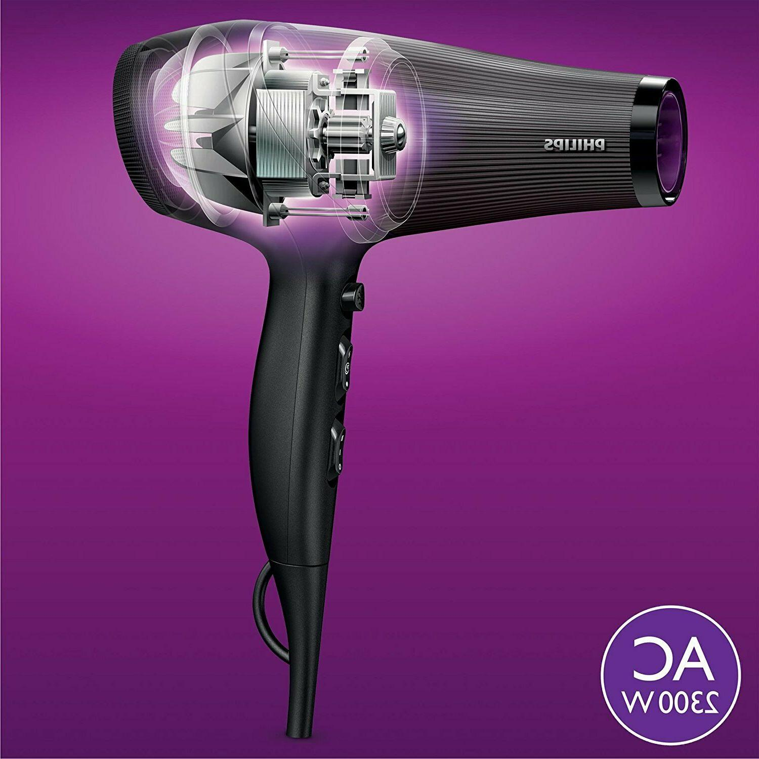 Philips BHD177/00 Dryer of Pelo. Temperature