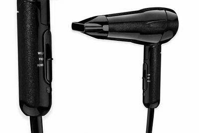 Black Ceramic Ionic Hair Dryer Styling Hair Watts