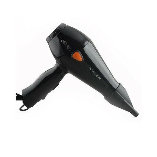 black pro 3600 professional hair dryer today