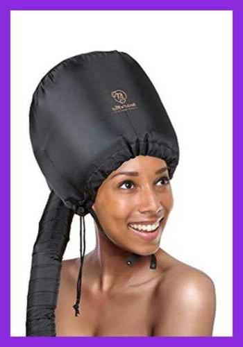 bonnet hooded hair dryer attachment for natural