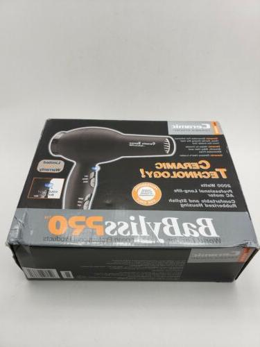 BABYLISS PRO CERAMIX TURBO HAIR DRYER BAB2000
