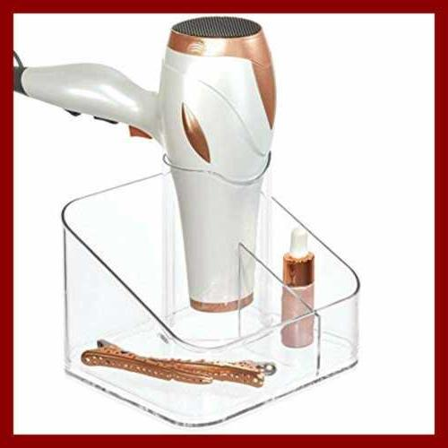"""Clarity Care Divided Blow Bathroo Holder 6.5"""" X 6.4"""" 5.7"""""""