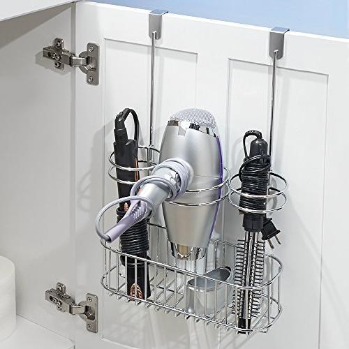 InterDesign Over Cabinet Hair Care Chrome