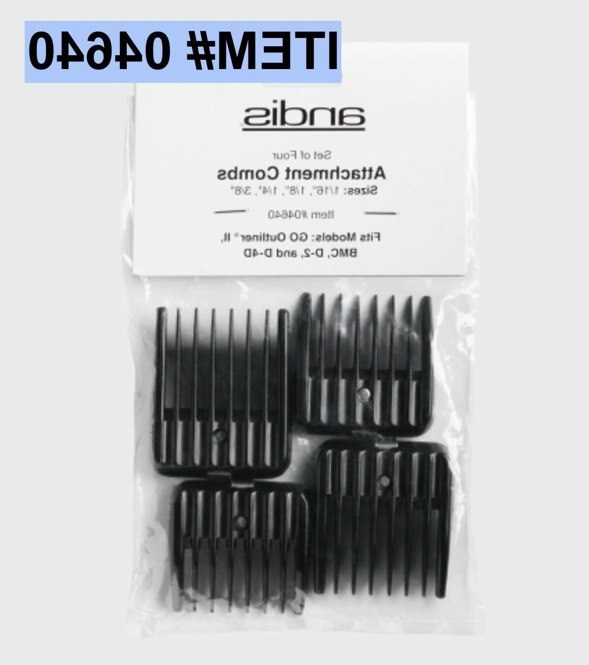 clipper attachment combs 4 comb set snap