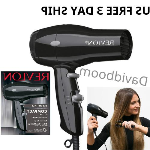 compact hair dryer blower 1875 heat professional