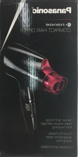 Panasonic Compact Hair Dryer Nanoe Technology Folding Travel