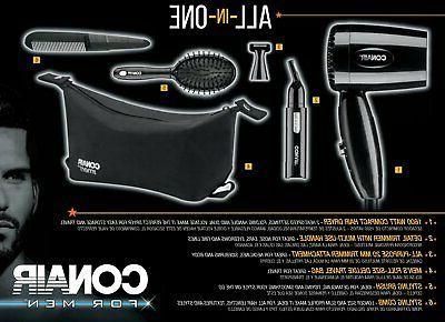 Conair 1600 Compact Hair Handle; Dual