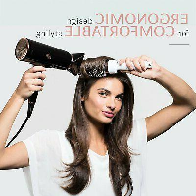 T3 Cura Luxe Ionic Hair Dryer Auto Sensor & Rose
