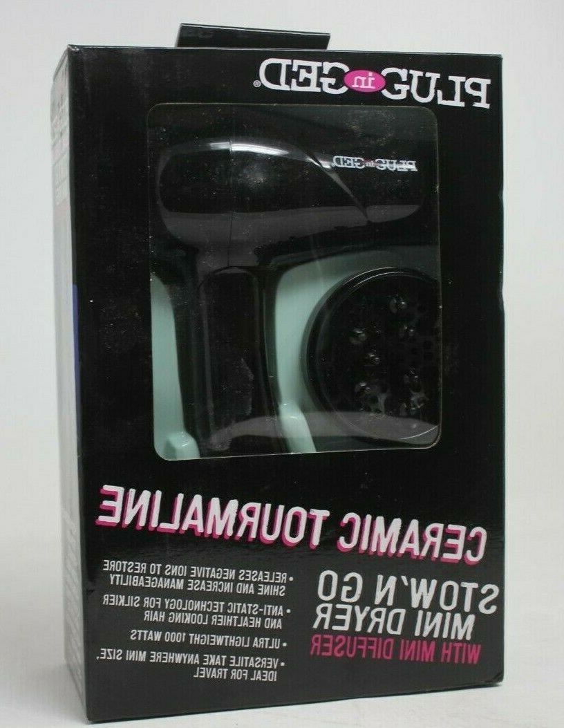 dual voltage travel hair dryer 1000 watts