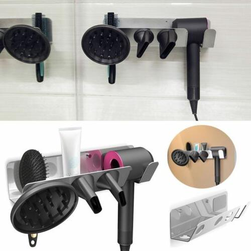 For Dyson Supersonic Holder Iron Hair Dryer Wall Mount Stand